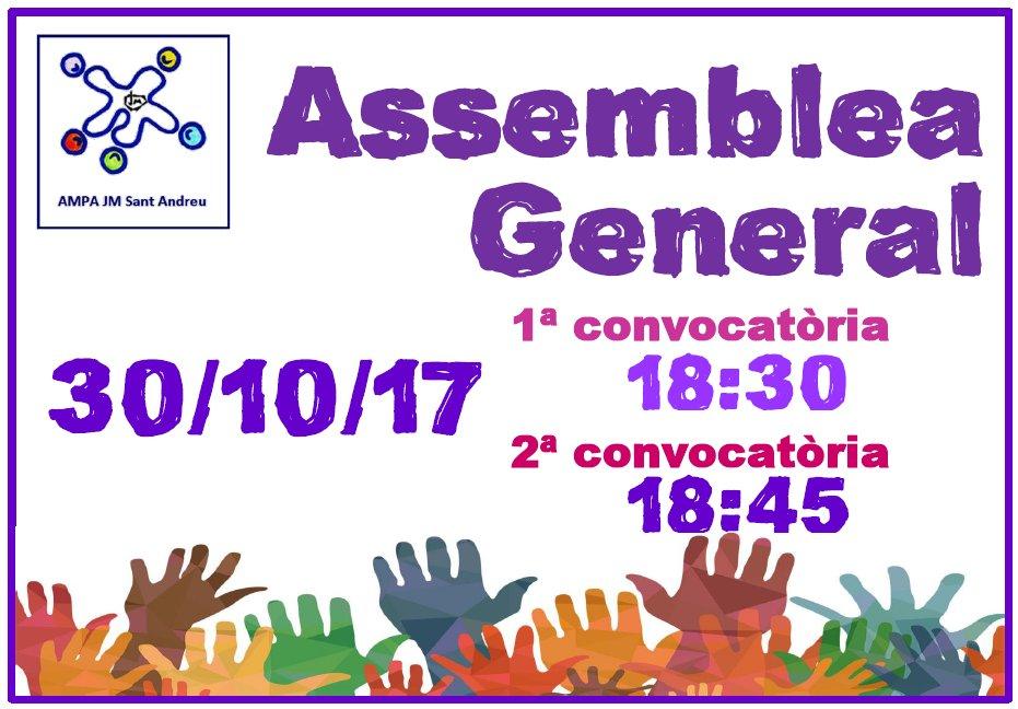 Assemblea AMPA 2017-2018