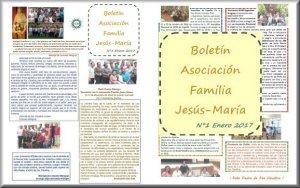 Boletín Asociación Familia Jesús-María N°1 Enero 2017