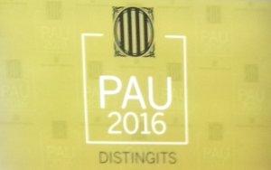 PAU 2016 Premis d'Excel·lència