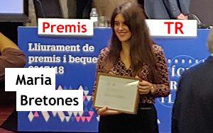 Premis TR: Maria Bretones