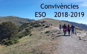 Convivències ESO 2018-2019